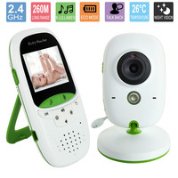 2 0 Inch Wireless Baby Monitor With Camera Video Electronic Security VB602 2 Talk Nigh Vision