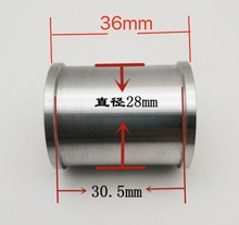 2pcs/lot L:36mm inner hole:5mm Aluminum alloy double bearing  moving guide wheel Rollerless Drive Wheel