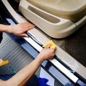 Защитная пленка на бампер для Dacia duster logan sandero stepway lodgy mcv 2 Renault Megane Modus Espace Laguna