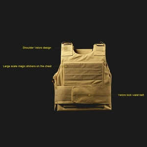Image 2 - Military Equipment Tactical Vest Army Airsoft Hunting Molle Vest Outdoor Sport Paintball CS Wargame Combat Protective Vest