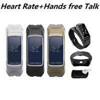 Talk Band Smart Heart Rate Tracker Bracelet Hands free Talk Wristband Bluetooth Earphone Wireless Calling PK Huaweis B3 B5