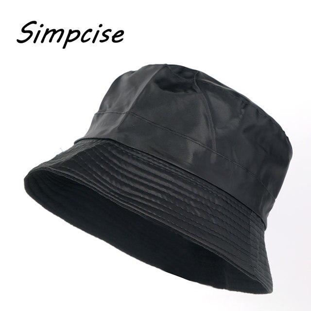 47a2c882b291c Simpcise verano cubo sombreros para hombre mujer al aire libre Pesca ala  ancha UV lluvia tapas
