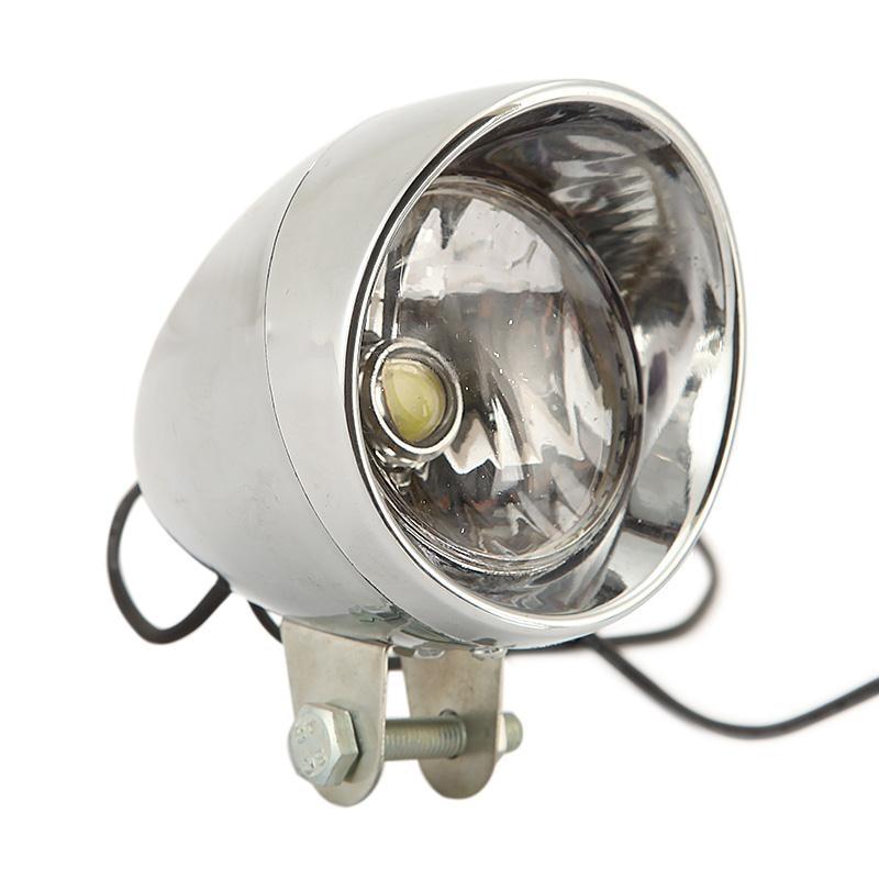 Bullet Motorcycle 12V Chrome Auxiliary COB LED Spotlight