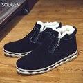 Новые Люди Зима Мартин Сапоги Случайные Размер 48 Ковбой Для обувь Военный Черный Мужские Продаж Меха Социальной Мужской Обуви тактический