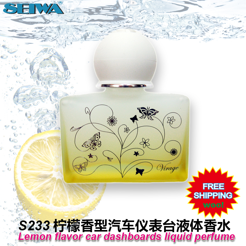 Accesorios del coche lemon car dashboard líquido desodorante aromático perfume s
