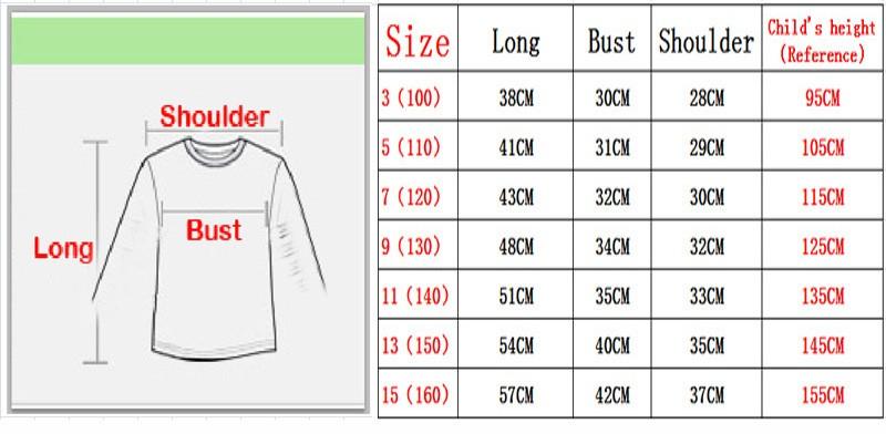 Brand New Girls Boys T-shirts 100% Cotton Children Long Sleeve Tops Kids Hip Hop Neon Print Party Club Night Light Punk Top Tees 4