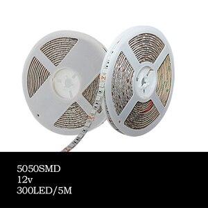 Image 5 - 5 متر LED مصابيح فيتو شاشة ليد بطيف كامل قطاع ضوء 300 المصابيح 5050 رقاقة LED Fitolampy تنمو أضواء ل الدفيئة النباتات المائية