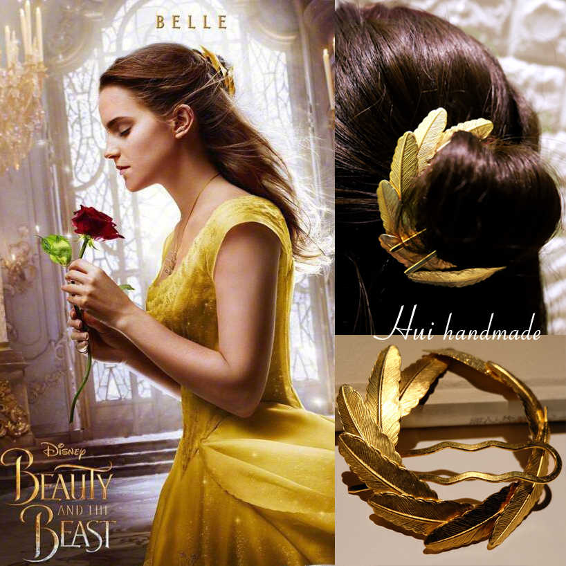 Halloween Movie Beauty And The Beast Cosplay Props Belle