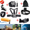 Gopro Accessories Chest Head Strap Monopod Floating Bobber Mount for Go pro Hero 4 3+2 Xiao Yi Action Camera SJCAM SJ4000 SJ5000