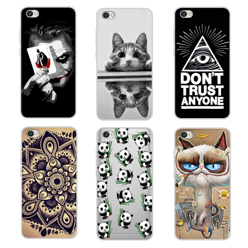 Cool Pattern Cover For Xiaomi Redmi Note 5a Note5a Case Without Fingerprint Hole Soft Tpu Silicone Cover Case For Redmi Note 5a Cover Pattern Cover Casecover For Aliexpress