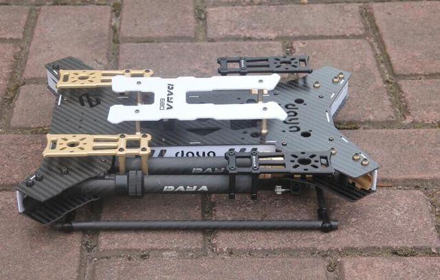 Daya680 Daya 680 מתקפל 4 ציר סיבי פחמן Quadcopter מסגרת w/נחיתה עבור FPV