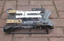 Daya680 daya 680 dobrável quadcopter de fibra de carbono 4 eixos quadro com trem de pouso para fpv