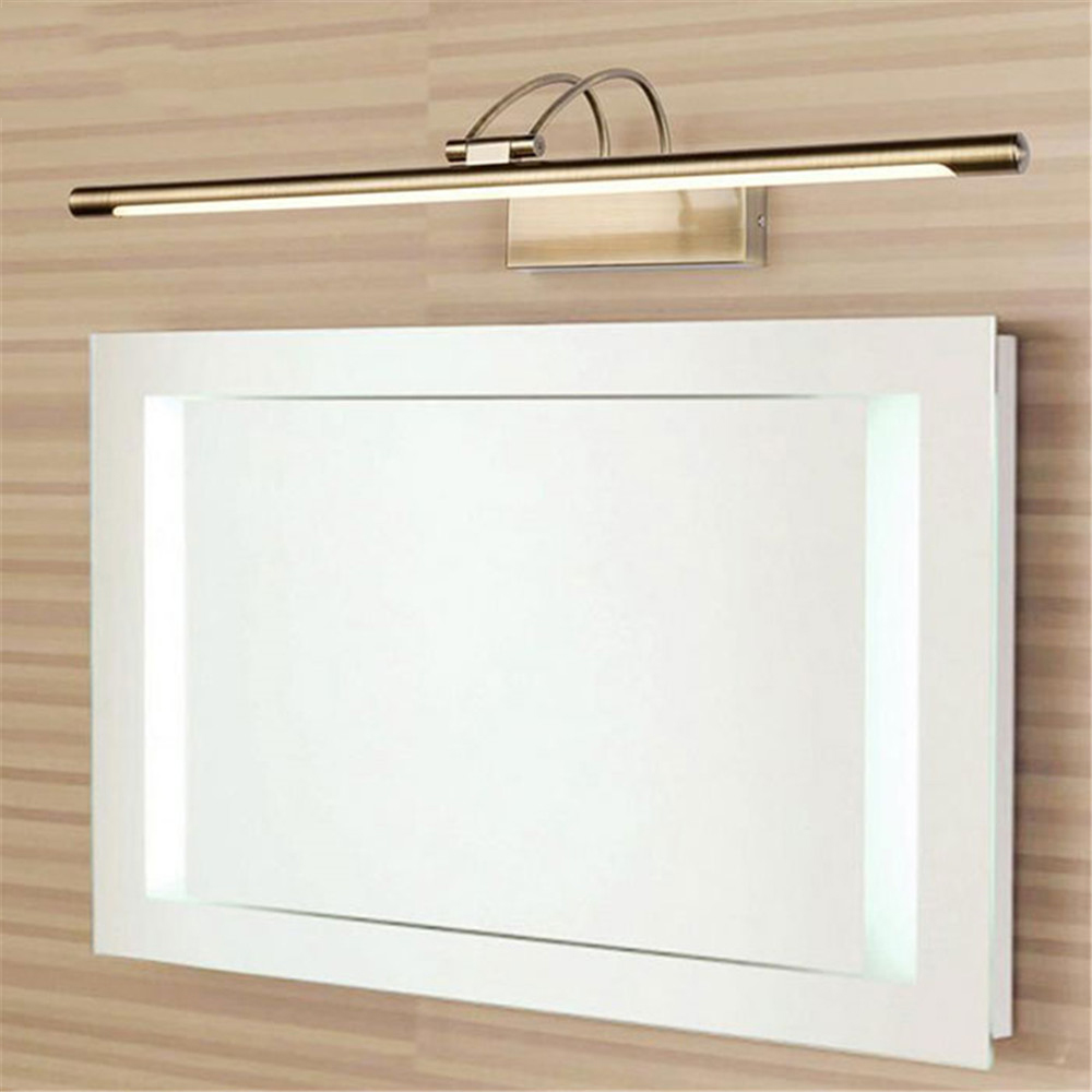 Nordic Modern LED Vanity Mirror Lights  Brief  Anti fog Wall Sconce Light for Bathroom Toilet Waterproof Mirror Wall Lamp Decor|LED Indoor Wall Lamps| |  - title=