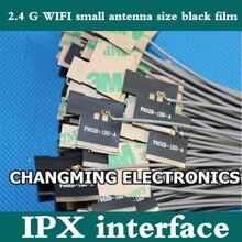 2,4 г wifi маленький размер черная Антенна в оболочке антенна усиления 2,4 г модуль IPX FPC мягкая PCB ROHS(работает) 10 шт