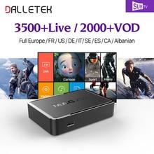 Full HD Französisch IPTV Kanäle Dalletektv Mag250 TV Box Französisch arabisch IPTV Box Subtv IPTV Abonnement Arabisch Mag 250 IPTV Box