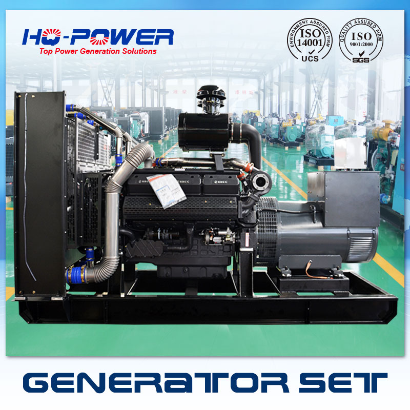 Chinese diesel generator 500kw open type generator price factory direct sale