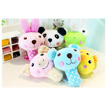 New Dog Toys Pet Puppy Chew Squeaker Squeaky Plush Sound Bunny Pig & Panda Toys 3 Designs Toys Products HOT