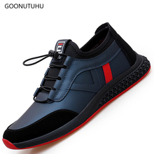 2019 new fashion trend mens shoes casual leather loafers spring & autumn shoe man young students classic platform for men