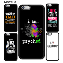 MaiYaCa Awesome Psychologist Profession Psychology Case For iphone XR XS MAX 11 Pro X 6 6S 7 8 Plus 5 5S Back Cover Shell