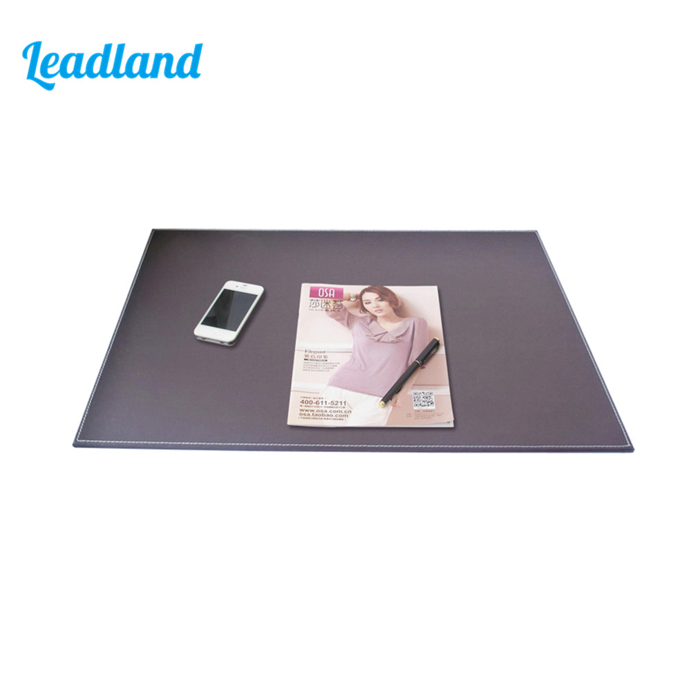 Office 60*45cm Writing Pad Computer Desk Mat PU leather Writing Board A111