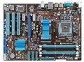 Original p5p43t motherboard mainboard ddr3 lga 775 capacitor sólido