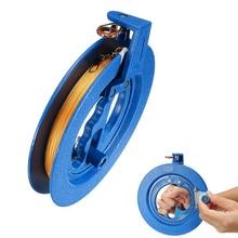 200M String Flying Tools & Lock Kit Kite Reel Winder Fire Wheel Handle Tool Twisted String Line Kite Reel Winder with String