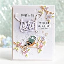 Eastshape Sparrow Dies Metal Cutting Scrapbooking Bird Die Cut for Craft Stencil Paper Decoration New Flower Animal