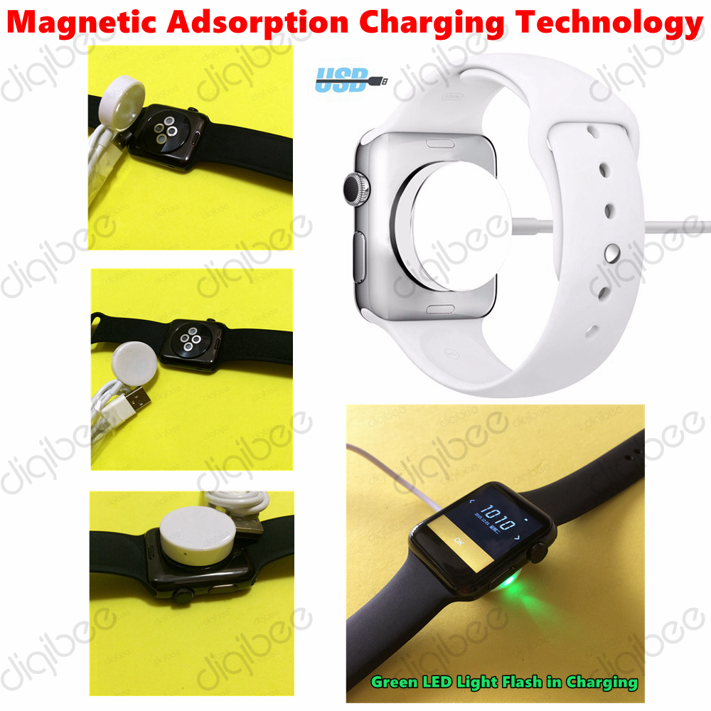 New iWO Upgraded USB Charger Cable for 42MM iWO 2nd Generation font b Smart b font