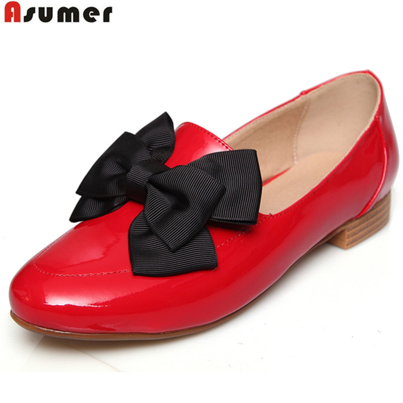 plus size 34-40 women flats simple slip on platform high quality loafers shoes fashion round toe popular shoes woman