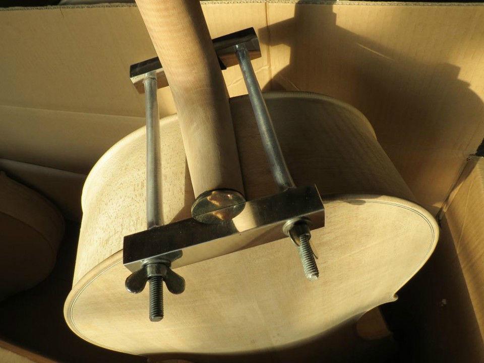 2pcs (maker and repair) tools,cello/violin neck install clamp