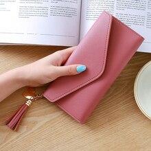 Tassel Clutch Wallet Purse