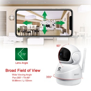 Image 2 - 1080P IP Camera Wireless Home Security Monitor Video Surveillance Camera Wifi Night Vision CCTV Camera Baby Monitor Pet Camera