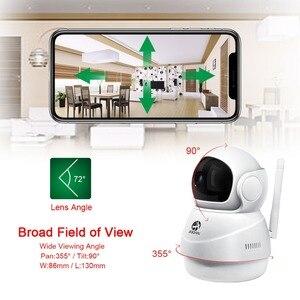 Image 2 - 1080P ip камера, беспроводной домашний монитор безопасности, камера видеонаблюдения, камера Wifi, ночное видение, CCTV камера, детский монитор, камера для домашних животных