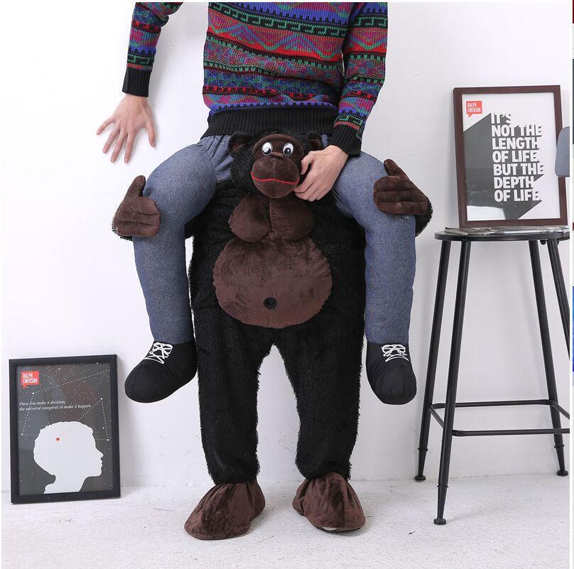 Adult Inflatable Kangaroo Costume Mascot Animal Halloween ...