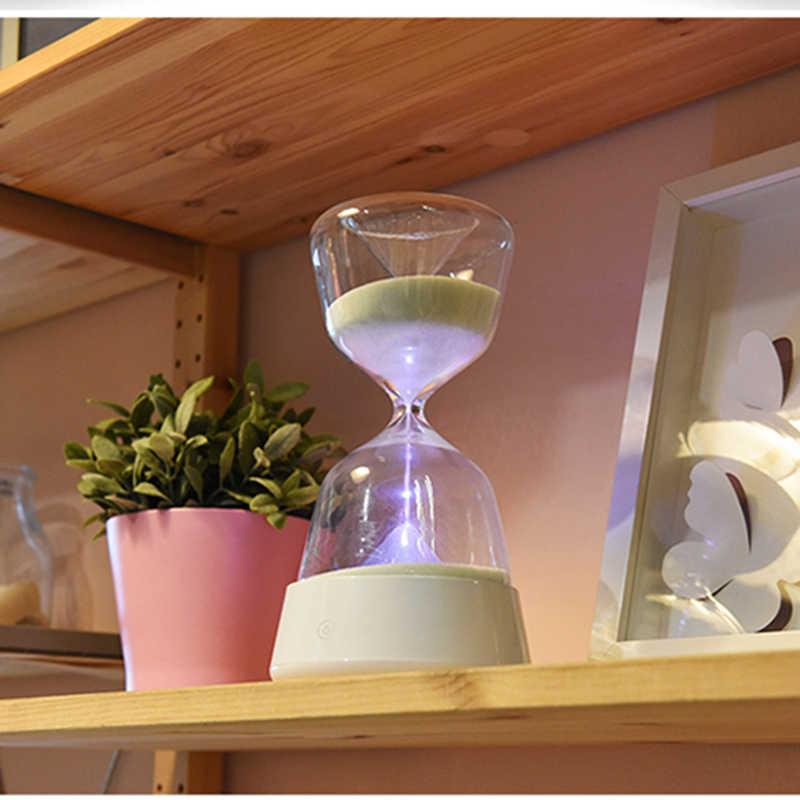 15 Minute Hourglass Timer Night light hourglass Romantic