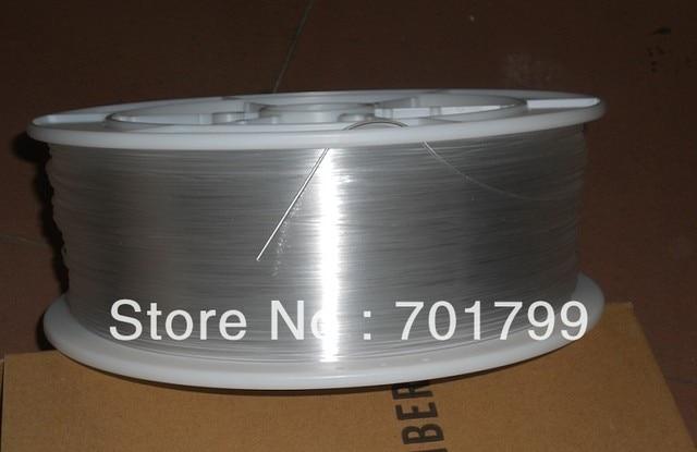 one roll PMMA optic fiber for lighting;clear color;inner Dia(mm):0.75mm;Outer Dia(mm):0.75mm;2700m/roll;P/N:EK-75
