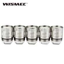5pc In Stock 0.15ohm WISMEC RX Dual Atomizer Head for Reux Tank Select for Wismec RX Dual Coil Reux Tank E-cigarette Atomizer
