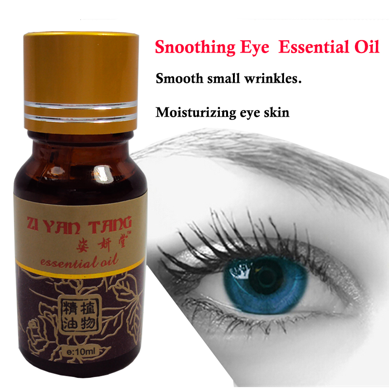 Soothing Eyes Essential Oil for Relieve Tired Eyes and Dark Circles  Eye Care Massage Oil 10ml soothing massage bottom plain socks