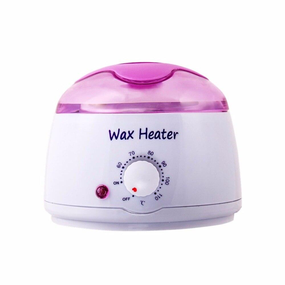 Multifunktionale Temperatur Control Hause Wachs Wärmer Schmelz Hand Wachs Heizung Maschine Enthaarung Wachs Werkzeuge 1 Phantasie Farben Haarentfernung Creme