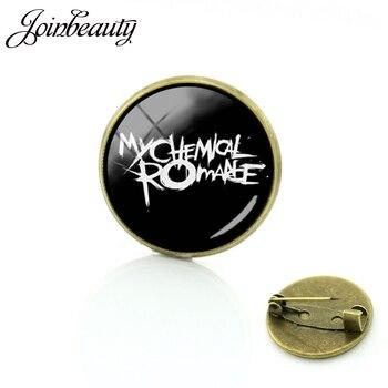 JOINBEAUTY модный значок Ювелирная рок-группа My chemical romance Броши Slipknot музыкальная лента булавки подарок для мужчин и женщин C465