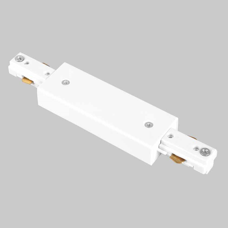 Led Track Rail Connector Straight Connectors 3 Wire Joiner Lighting For Spot Light Ing