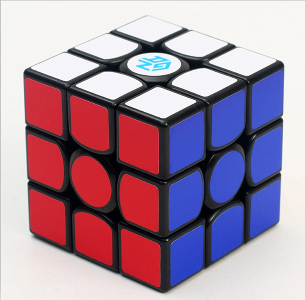 Gan 356 Air Standard Version 3*3*3 Black Magic Cubes Puzzle Speed Cube Educational Toys Gifts for Kids Children