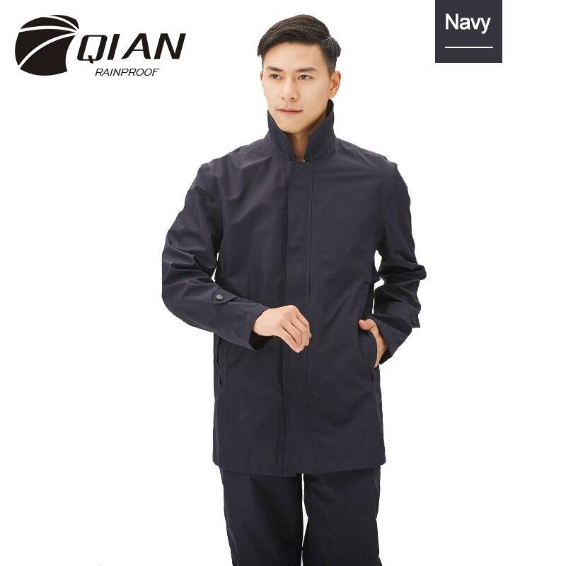 QIAN imperméable à la pluie imperméable imperméable veste de pluie extérieure imperméable femme/homme randonnée Camping imperméable vêtements de pluie vêtements de pluie