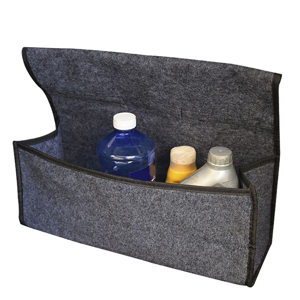Nouveau coffre de voiture organisateur sac de rangement pliable feutre Auto voiture Boot organisateur boîte de rangement voyage bagages outils ranger voiture style