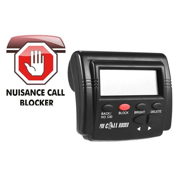 Pro Call Blocker Caller ID Blocker Stop Hinderlijke Oproepen FSK/DTMF Dual Systeem Schakelbare Blacklists Automatische Recognization