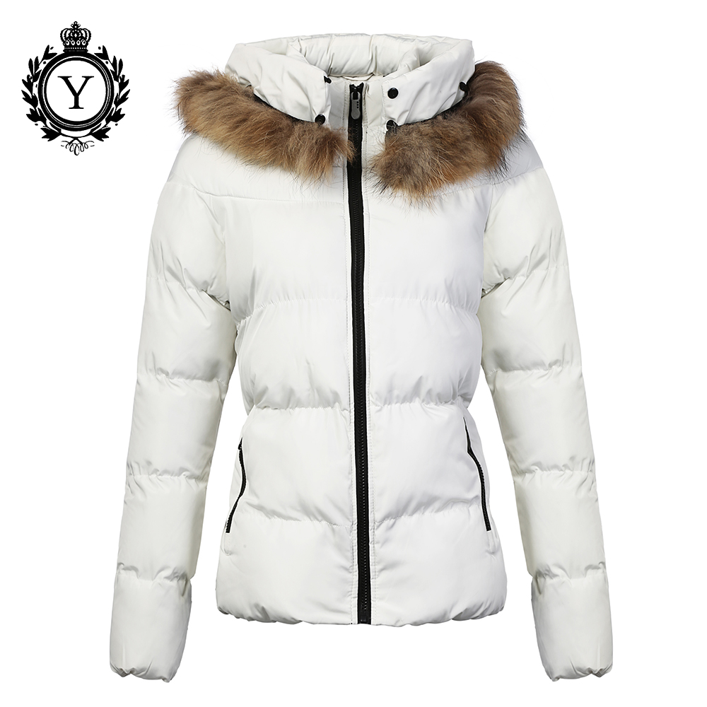 COUTUDI 2017 Women Parkas Coat Abrigos Mujer Short Solid Winter Parka Cotton-padded Outerwear Coats Warm Fur Hoody Jackets Lady 2017 new winter coats women winter short parkas female autumn cotton padded jackets wadded outwear abrigos mujer invierno w1492
