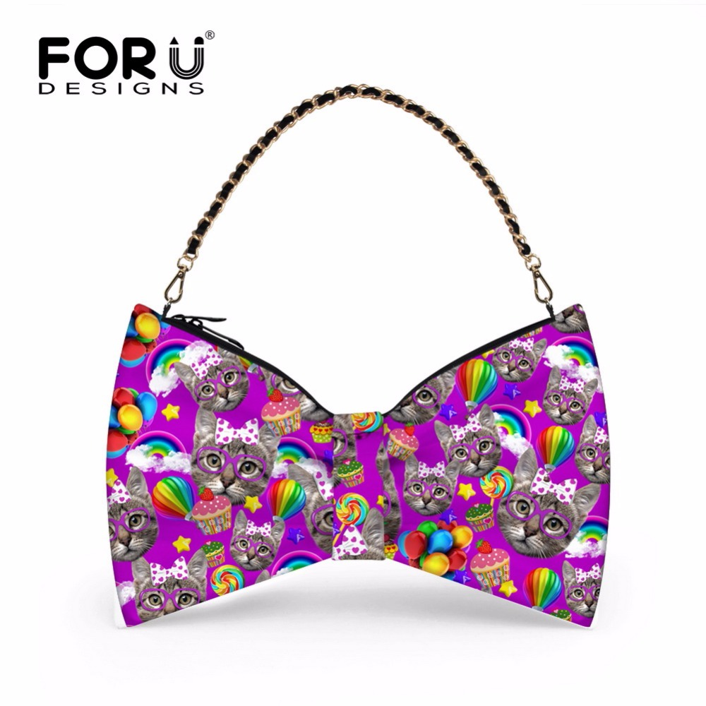 ФОТО Cute Women Shoulder Bag High Quality Cartoon Cat Printing Ladies Handbags Casual Summer Hand Bag Women Fold Bags Bolsa Feminina