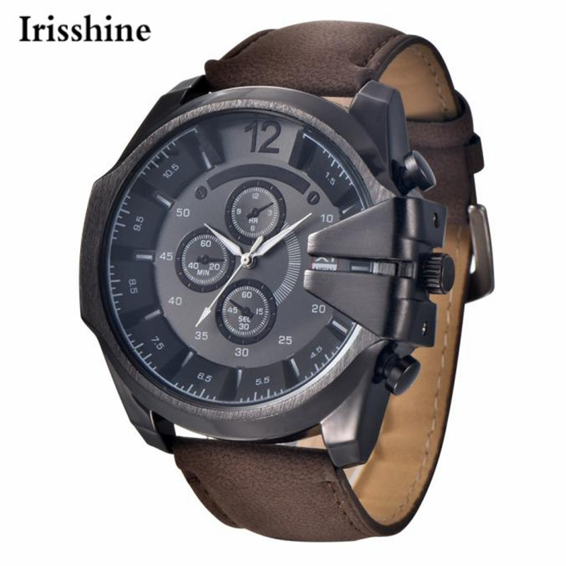 Irisshine i0866 brand luxury Men watches montre homme *
