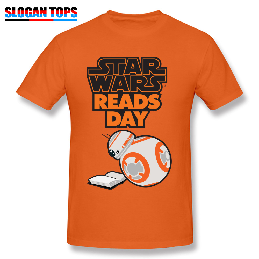 Men T-Shirt star wars aftermath Printed On Tops Tees 100% Cotton Round Neck Short Sleeve Normal Tee-Shirts VALENTINE DAY star wars aftermath orange