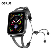 цена на pendant strap For Apple Watch Band 42mm/38mm corres 316L Stainless Steel iwatch 3 2 1 wristband Bracelet watchband belt
